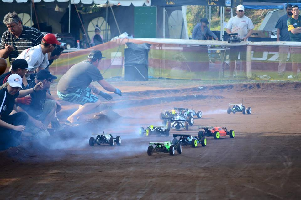 APN Raceway Nitro buggy start